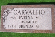 Two grave marker