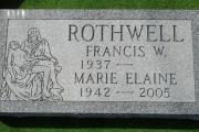 pieta design grave marker