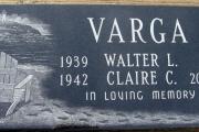 custom etched flat grave marker