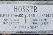 flat headstone for 2 people - Greenlawn, Nahant, MA