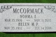 unpolished grave marker