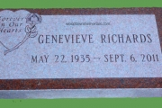 our flush grave markers for cemeteries
