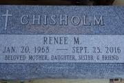 Chisholm grave marker - Woodbrook Cemetery, Woburn