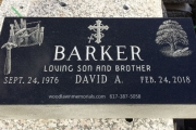 Our custom designed grave markers