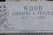 unpolished granite marker