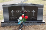 Our Greek family headstone designs