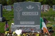 Our Irish Headstone designs - Forest Dale Cemetery, Malden, MA