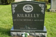 Our Irish Headstone designs in Forest Glade Cemetery, Wakefield MA