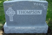 4' Irish family lot headstone - Swampscott Cemetery, Swampscott MA