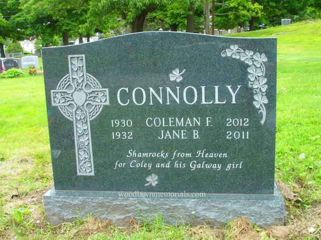 Irish Designs Woodlawn Memorials
