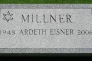Jewish Grave Marker - Westview Cemetery