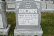 Jewish headstones - Everett, MA