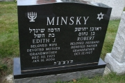 our Jewish headstones - Boston MA
