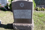 star of David headstone