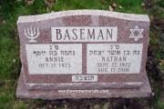 Jewish slant marker- Revere, MA