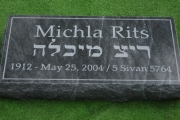 Jewish footmarker - Walnut Hill Cemetery Brookline MA