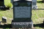 Jewish headstone - Pride of Lynn Cemetery