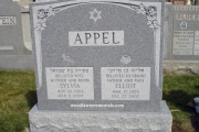 Jewish headstone - Woburn MA