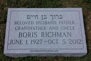 Jewish footmarker - Beth Israel Cemetery