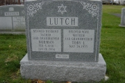 Jewish headstone - Maple Hill Cemetery, Peabody, MA
