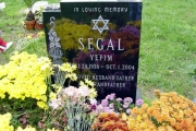 our custom Jewish headstone - Baker St Cemeteries