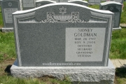 Jewish headstone design - Everett Massachusetts