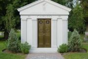 private mausoleum - Wyoming Cemetery Melrose Massachusetts