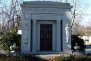 Mausoleum - Woodlawn Cemetery Everett Masssachusetts