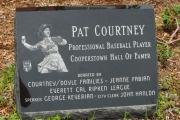 Pat Courtney memorial