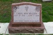 slant marker erected in Cambridge-Massachusetts