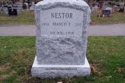 Rock Pitch single headstone