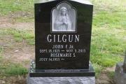 Catholic headstone in Calvary Cemetery, Winchester, MA