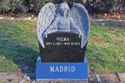 Angel headstone - Holy Cross Cemetery, Malden, MA