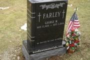 Book design in Oakdale Cemetery, Middleton