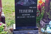 Example of our single grave monument in New Calvary Cemetery, Boston, MA