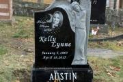 Angel designs for single grave