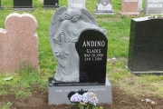 Angel tombstone - Pine Grove Cemetery, Lynn, MA