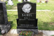 Barios single gravestone