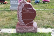 premium single headstone designs