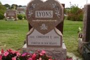 Woodlawn Memorials - single grave headstones