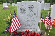 Officer John Bruttaniti headstone