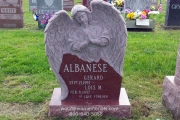 Angel gravestone designs