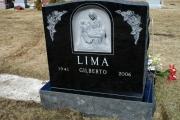 hand carved Pieta double lot headstone - Winthrop Cemetery - Winthrop, MA