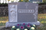 Hand Carved Angel family lot headstone