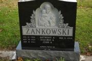 St. Anthony & Childsculpture headstone