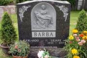 Pieta headstone design - St. Patrick's Cemetery, Watertown, MA