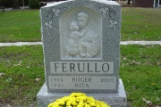 Our Catholic single headstone designs