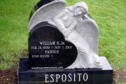 headstone in Reading Ma area