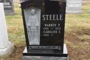 full length Blessed Mother - Holy Cross Cemetery Malden