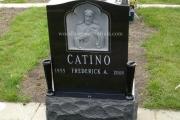 Sacred heart of Jesus Catholic headstone design